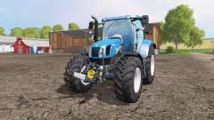 New Holland T6.160 front loader