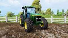 John Deere 6810 front loader