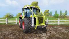 CLAAS Xerion 5000 forest