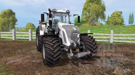 Fendt 933 Vario white pour Farming Simulator 2015