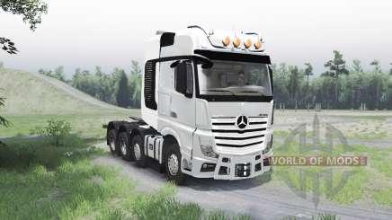 Mercedes-Benz Actros (MP4) 8x8 für Spin Tires