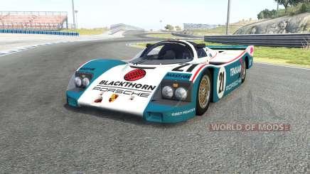 Porsche 962C pour BeamNG Drive