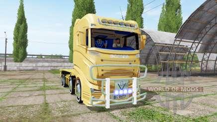 Scania R1000 container truck für Farming Simulator 2017