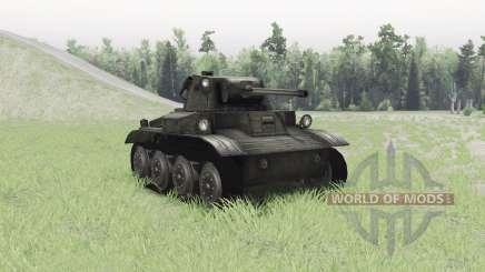 Light Tank Mk.VII Tetrarch für Spin Tires