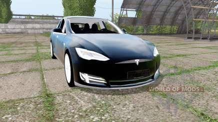 Tesla Model S 2017 pour Farming Simulator 2017