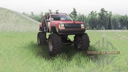 Jeep Cherokee (XJ) chopped für Spin Tires