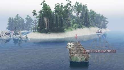 Water world v0.5 für Spin Tires