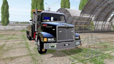 Western Star 4900 rotator heavy wrecker pour Farming Simulator 2017