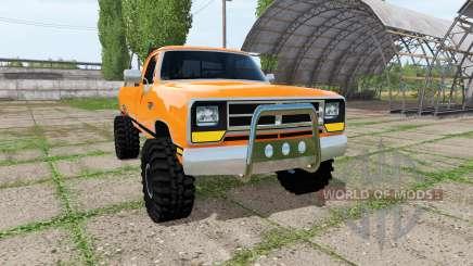 Dodge Power Ram pour Farming Simulator 2017