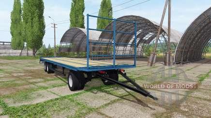 Bale trailer v1.0.0.3 für Farming Simulator 2017
