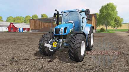 New Holland T6.160 front loader für Farming Simulator 2015