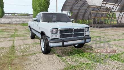 Dodge Power Ram Club Cab (W250) pour Farming Simulator 2017