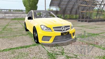 Mercedes-Benz C 63 AMG (W204) pour Farming Simulator 2017