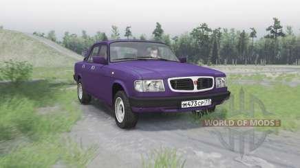 GAZ Volga 3110 pour Spin Tires