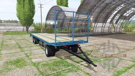 Bale trailer v1.1 für Farming Simulator 2017