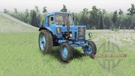 MTZ 80 Biélorussie pour Spin Tires