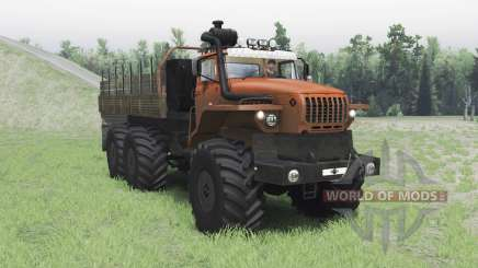 Ural-4320 Polarforscher für Spin Tires