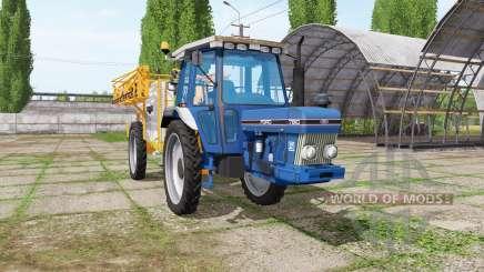 Ford 7810 sprayer v1.1 pour Farming Simulator 2017