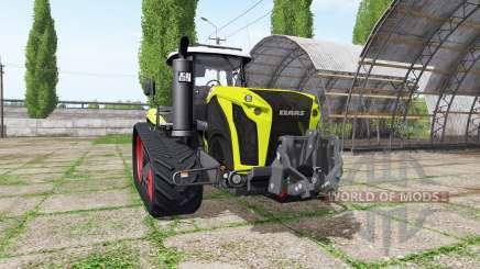 CLAAS Xerion 4000 TerraTrac v1.2 pour Farming Simulator 2017