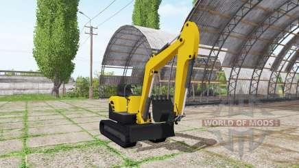 Mini-Bagger für Farming Simulator 2017
