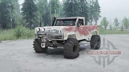 Jeep J10 1980 für MudRunner
