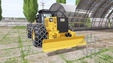 Caterpillar 555D v2.0 pour Farming Simulator 2017