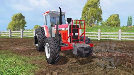 Massey Ferguson 290 front loader pour Farming Simulator 2015