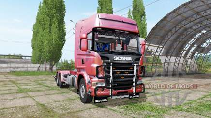 Scania R730 hooklift v1.0.3 pour Farming Simulator 2017