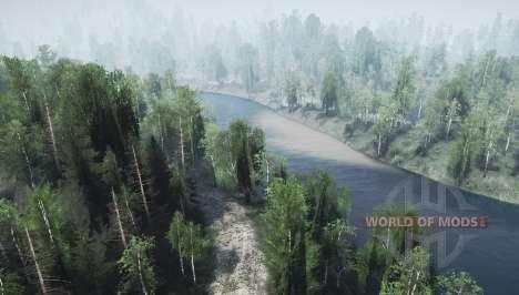 Deux rivières pour Spintires MudRunner