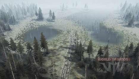 L'abattage skidder zone v1.4 pour Spintires MudRunner