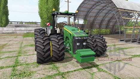 John Deere 8270R v1.1.2.5 pour Farming Simulator 2017