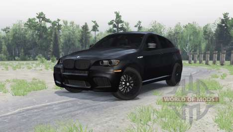BMW X6 M pour Spin Tires