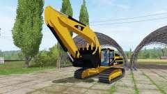 Caterpillar 345B LME v1.1 pour Farming Simulator 2017