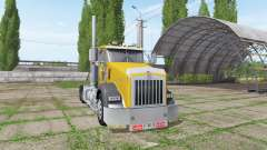 Kenworth T800 cat edition pour Farming Simulator 2017