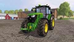 John Deere 6170M pour Farming Simulator 2015