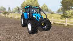 New Holland T7550 forest