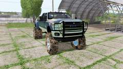 Ford F-350 Super Duty Crew Cab mud truck
