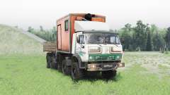 KamAZ 63501 Mustang v1.1 pour Spin Tires