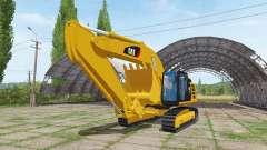 Caterpillar 329E v1.1 für Farming Simulator 2017