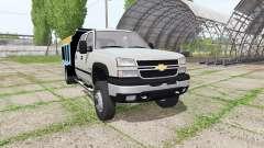Chevrolet Silverado 2500 HD Crew Cab dump v2.0 pour Farming Simulator 2017