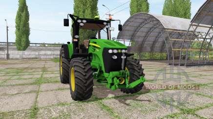 John Deere 7730 v1.4 pour Farming Simulator 2017