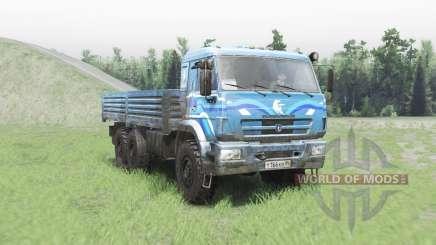KAMAZ 43118 für Spin Tires