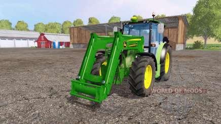 John Deere 6110 RC front loader für Farming Simulator 2015