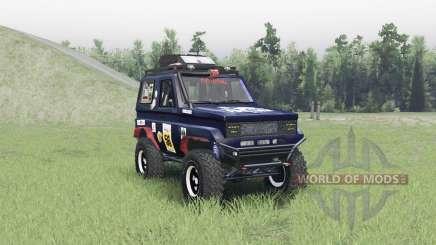 Toyota Land Cruiser 70 v1.1 pour Spin Tires