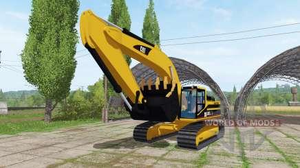 Caterpillar 345B LME v1.1 für Farming Simulator 2017