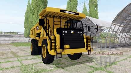 Caterpillar 773G v1.3 pour Farming Simulator 2017