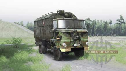 IFA W50 L army pour Spin Tires