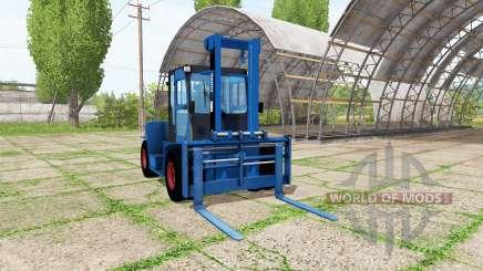 Clark C80D blue für Farming Simulator 2017