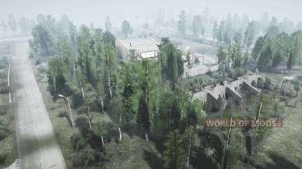 Le village de TES v1.01 pour MudRunner