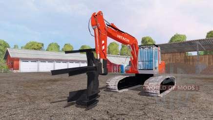 Hitachi ZX110 feller buncher für Farming Simulator 2015